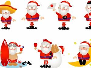 Divertidas imágenes de Papá Noel