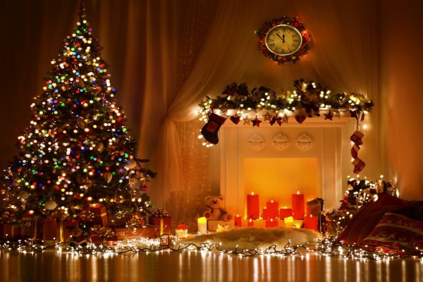 Esperando la llegada de la Navidad