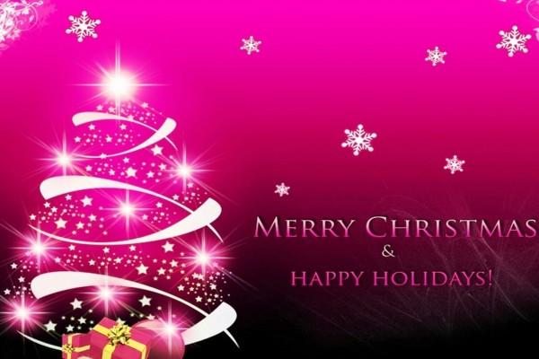 Feliz Navidad y días festivos
