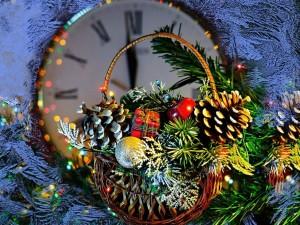 """Postal: Decoración para el """"Nuevo Año 2015"""""""