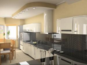 Una maravillosa y moderna cocina