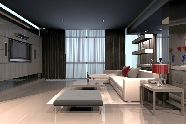 Espléndida sala de estar