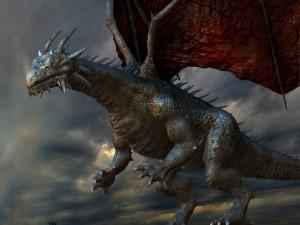 Un gran dragón