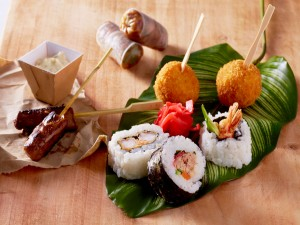 Comida japonesa para picar
