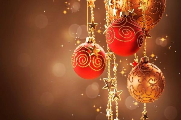 Adornos navideños para los días festivos