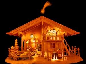 Postal: Representación del Nacimiento de Jesús