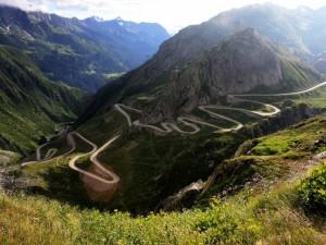 Paso de San Gotardo, Suiza