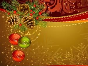 Postal: Postal para Navidad y Año Nuevo