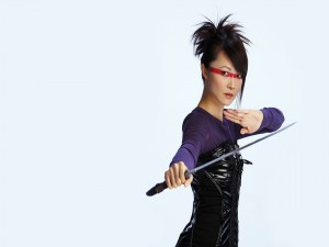La actriz Chris Yen