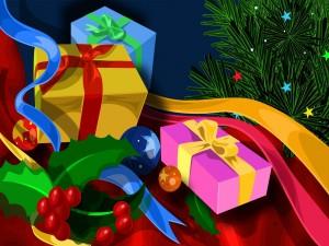 Regalos y adornos navideños