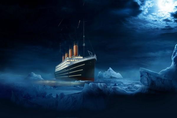 El Titanic entre icebergs