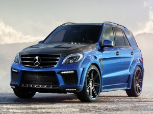 Postal: Mercedes Benz ML63 AMG Inferno