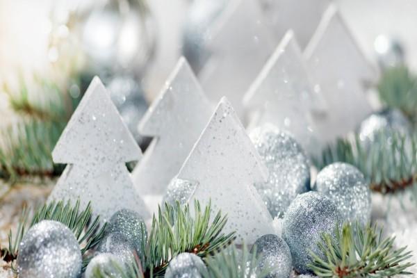 Bonita decoración para Navidad