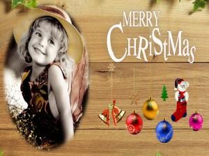 Postal: Alegría en Navidad