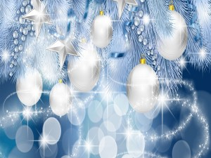 Postal: Navidad resplandeciente