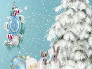 Navidad para los conejitos
