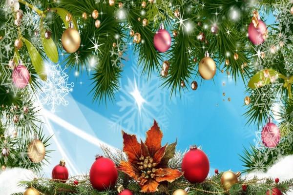 Decoración navideña variada