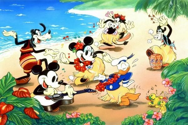 Vacaciones Disney en la playa