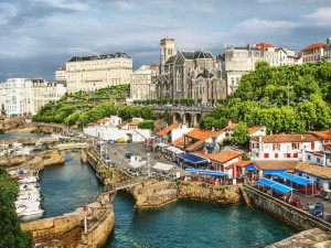 Postal: Biarritz (Francia)