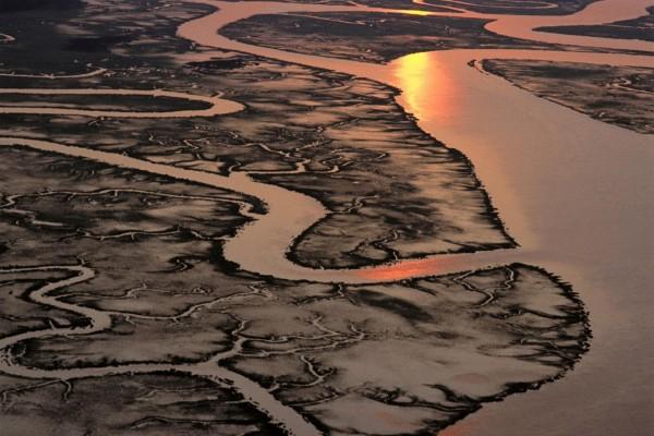 Río y afluentes