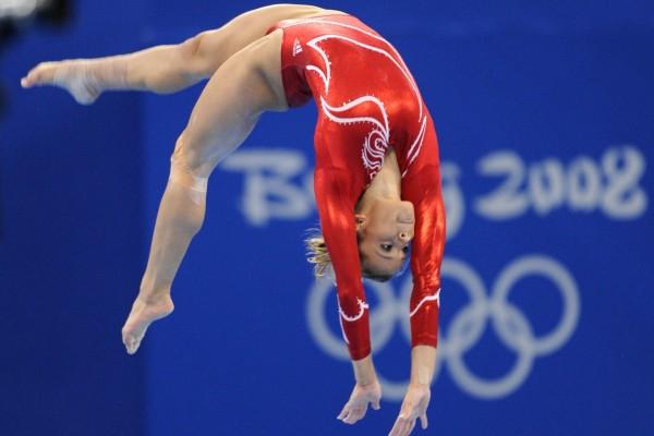 Gimnasta en los Juegos Olímpicos de Beijing 2008