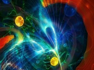 Imagen abstracta digital