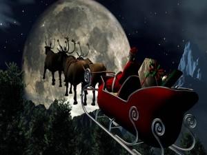 Santa Claus y sus renos emprenden su aventura por todo el mundo