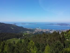 La bella Ría de Vigo