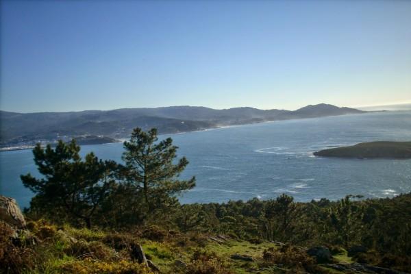 Vistas de Ría de Baiona