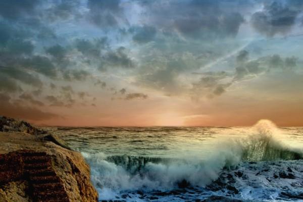La bravura del mar