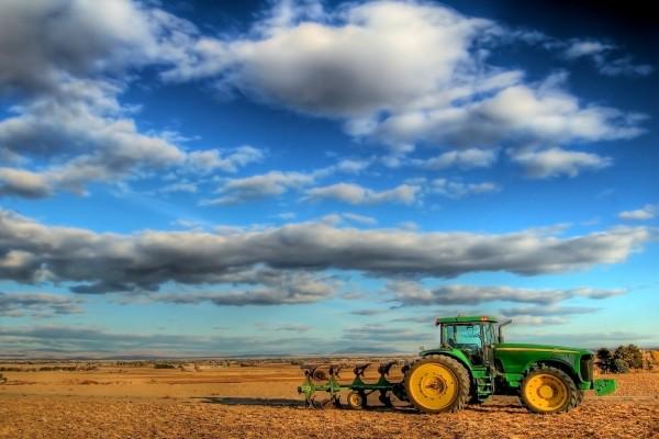 Maquinaria en el campo