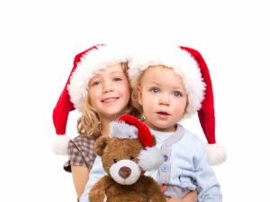 Hermanos en Navidad
