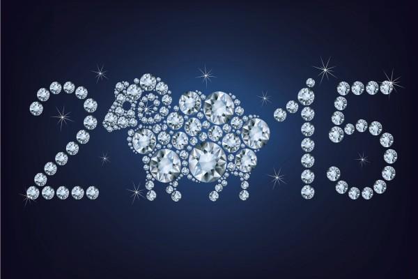 Original fondo del Nuevo Año 2015