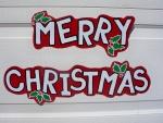 Adorno de Feliz Navidad