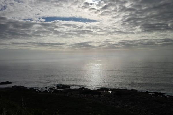 Nubes sobre el Atlántico