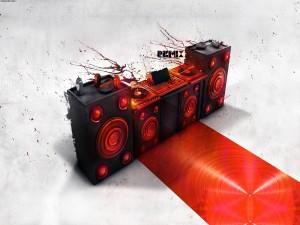 Postal: Música remix