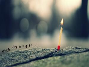 Cada día es un regalo