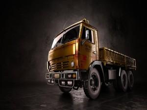 Postal: Camión Kamaz
