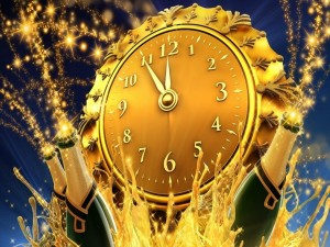 Postal: Esperando para festejar el Nuevo Año 2015