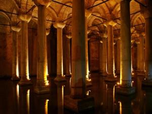Basílica Cisterna subterránea en Estambul