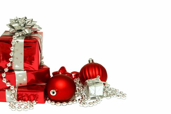 Decoración roja para Navidad