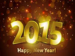 Postal: ¡Nuevo Año 2015!