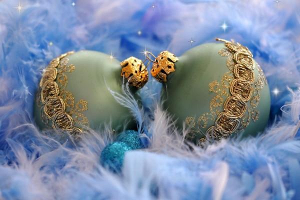 Magníficas bolas para adornar en Navidad