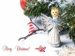 Un angelito de Navidad