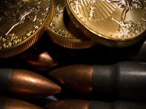 Monedas y balas