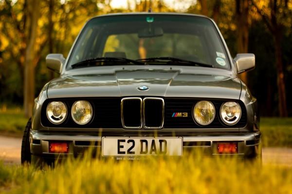 BMW en el campo