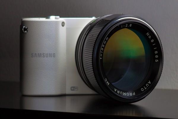 Interesante cámara Samsung