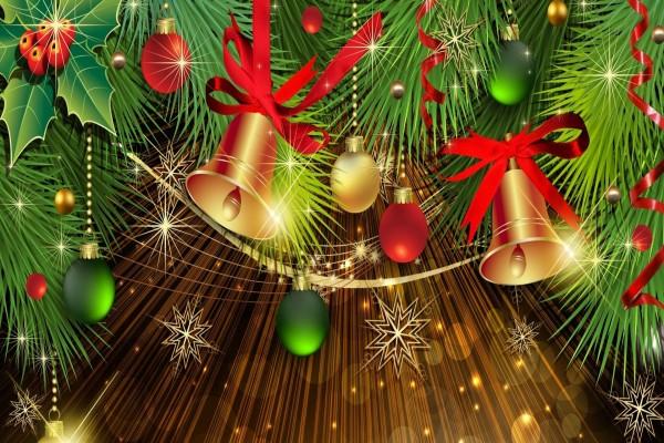Campanas y boals para las fiestas navideñas