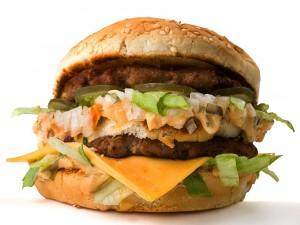 Hamburguesa casera tipo burger