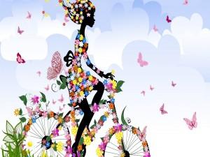 Primavera en bici